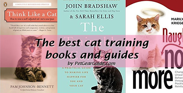 best cat training books and guides