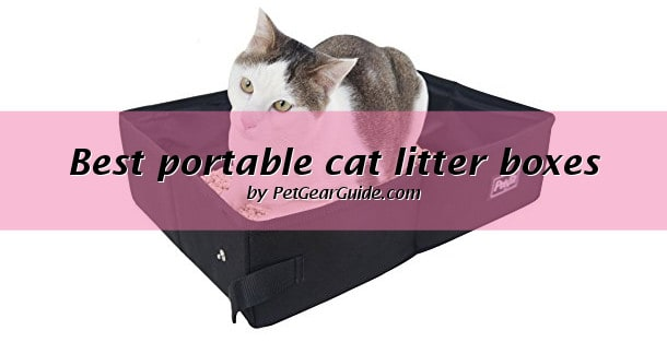 Best portable cat litter boxes
