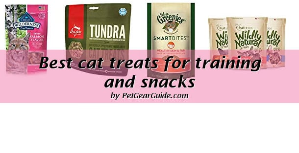 Best cat treats for training and snacks