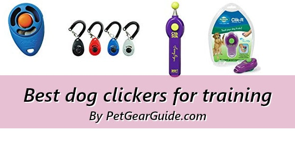 Best dog clickers for training