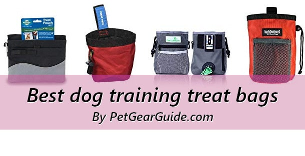 Best dog training treat bags