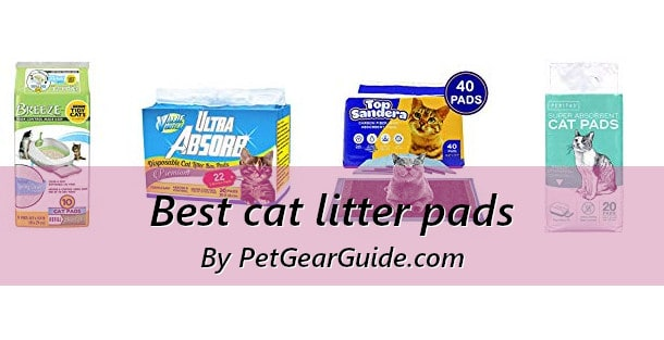 Best cat litter pads