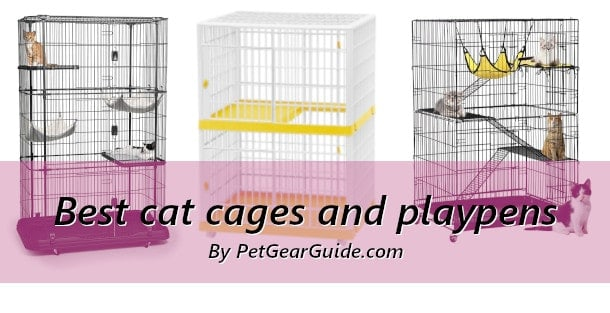 Best cat cages and playpens