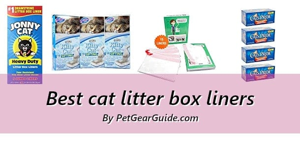 Best cat litter box liners