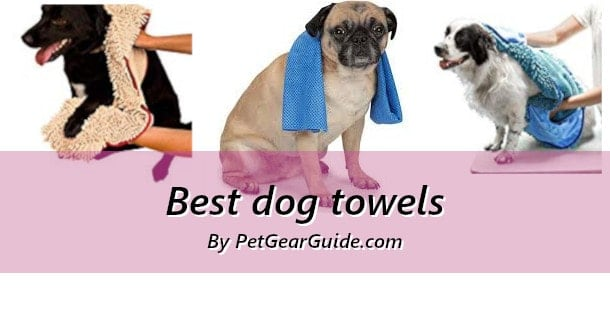 Best dog towels