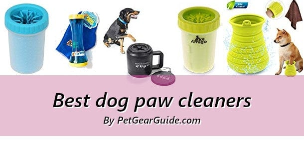 Best dog paw cleaners