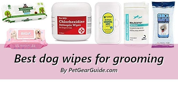 Best dog wipes for grooming