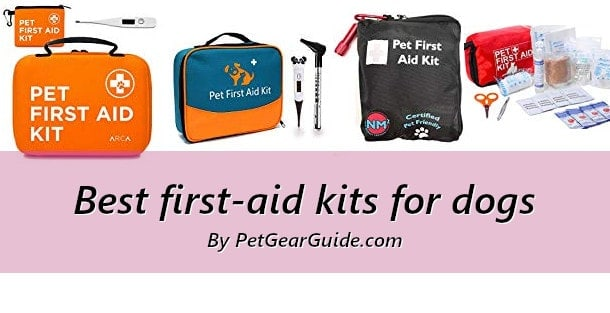 Best first aid kits for dogs