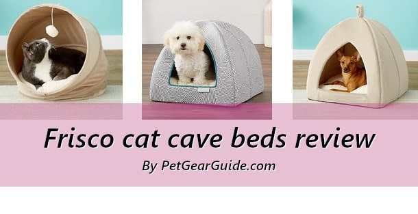 Frisco cat cave beds review