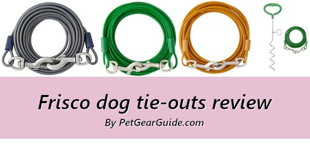 Frisco dog tie-outs review