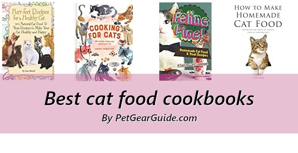 Best cat food cookbooks