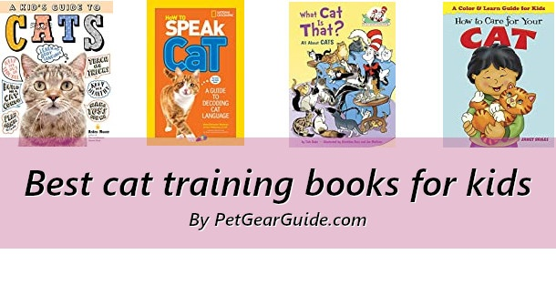 Best cat training books for kids