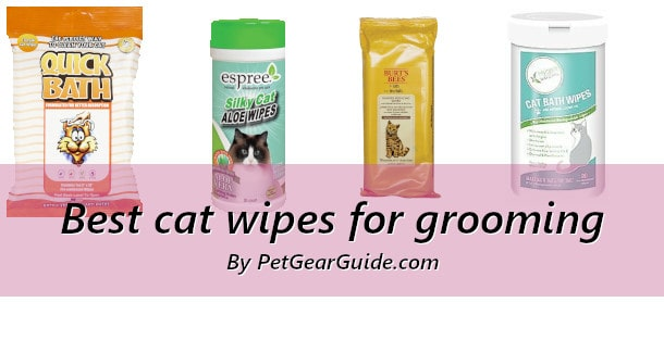 Best cat wipes for grooming