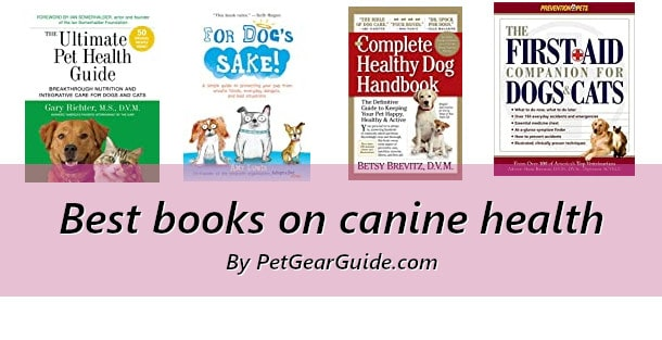 Best books on canine health