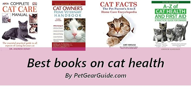 Best books on cat health